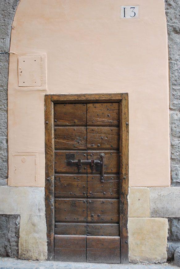 Puerta en Roma.