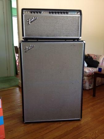 dual showman amp 1969 fender dual showman reverb amplifier 1200 guelph for sale in. Black Bedroom Furniture Sets. Home Design Ideas