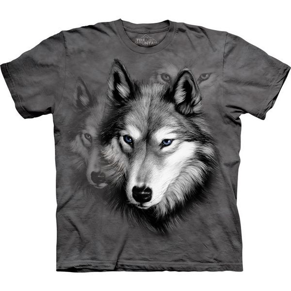 The Mountain Wolf T-shirt | Wolf Portrait