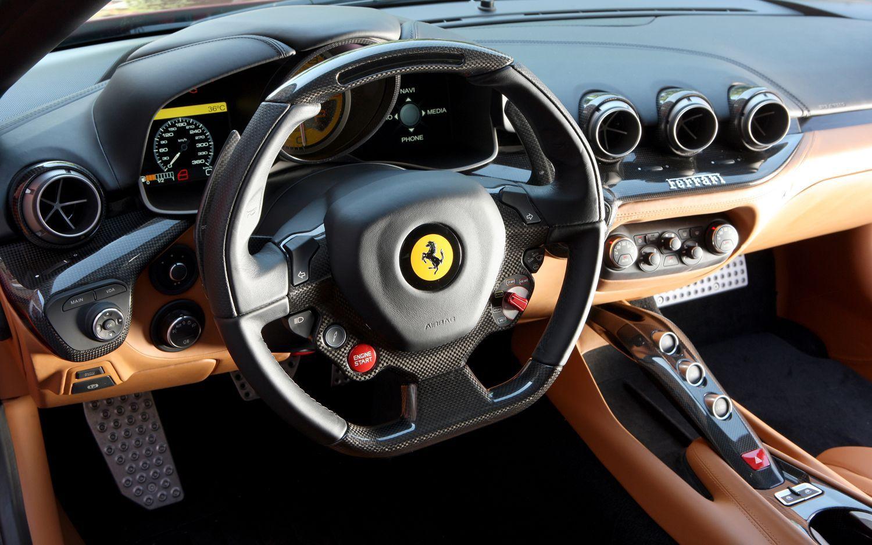 Ferrari F12 Berlinetta Car Dashboard Interior Wallpapers Ferrari F12 Ferrari F12berlinetta Expensive Cars
