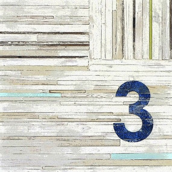 Number 3 Series by paintsquare.  $32