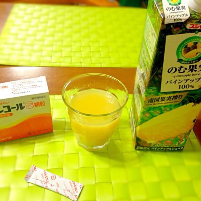 絶賛☆〜(ゝ。∂) - 40件のもぐもぐ - 風邪にはパイナップル果汁 by マニラ男
