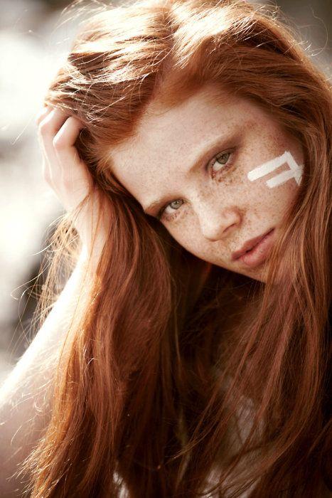 gallery redhead Freckle