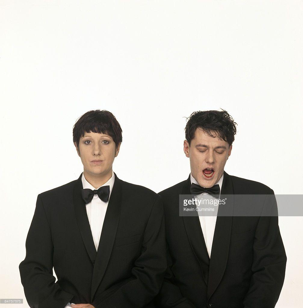 Husband And Wife Gillian Gilbert And Stephen Morris Of Rock Group New 写真 音楽