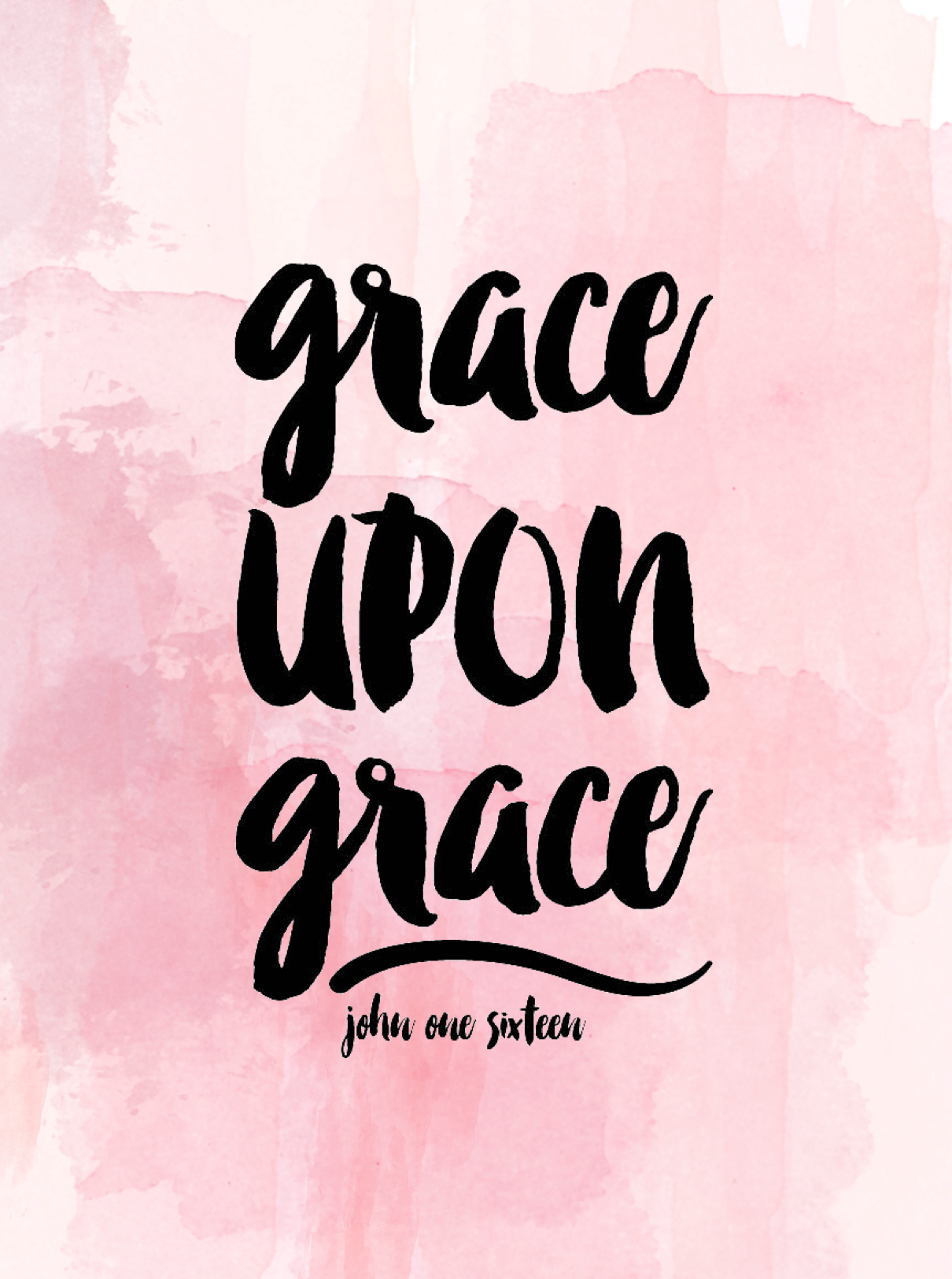 Grace upon grace john 1 16 wallpaper christian wallpaper - Bible verse background iphone ...