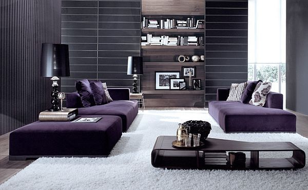 37++ Gray and purple living room ideas information