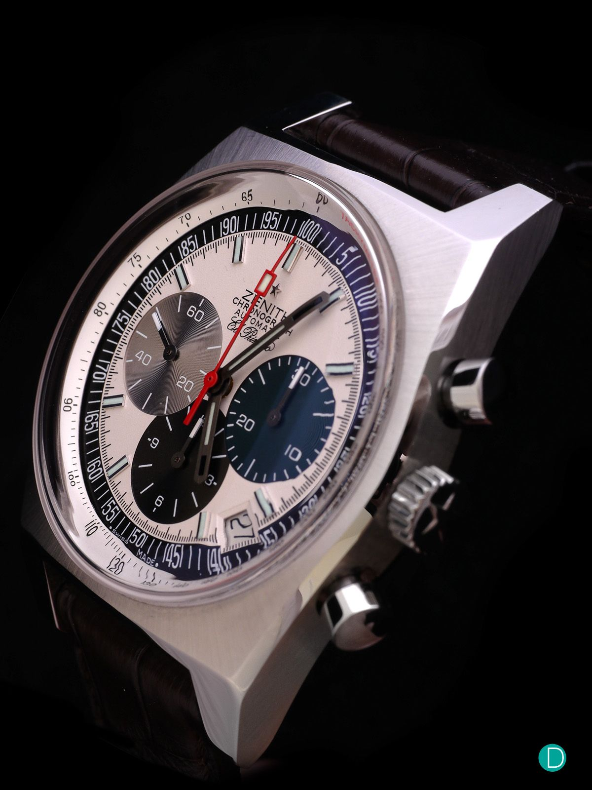 Deployant Zenith El Primero 1969 Re Edition 42mm In 2020 Vintage Watches Breitling Watch Omega Watch
