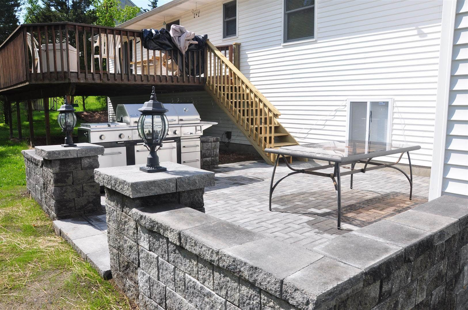 Patio Construction Contractor Design Landscape Stone
