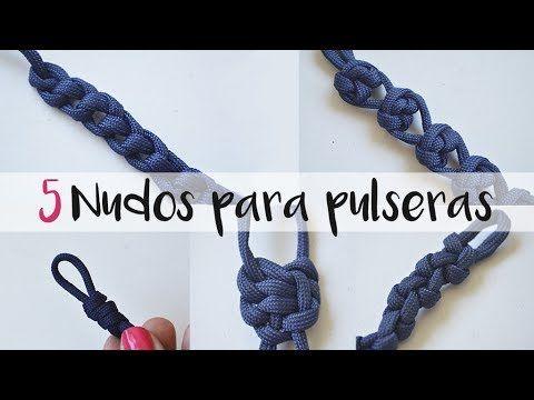 dfaca48368b7 Cómo hacer nueve nudos de bisutería distintos FÁCIL 1 2    +10000  SUSCRIPTORES - YouTube