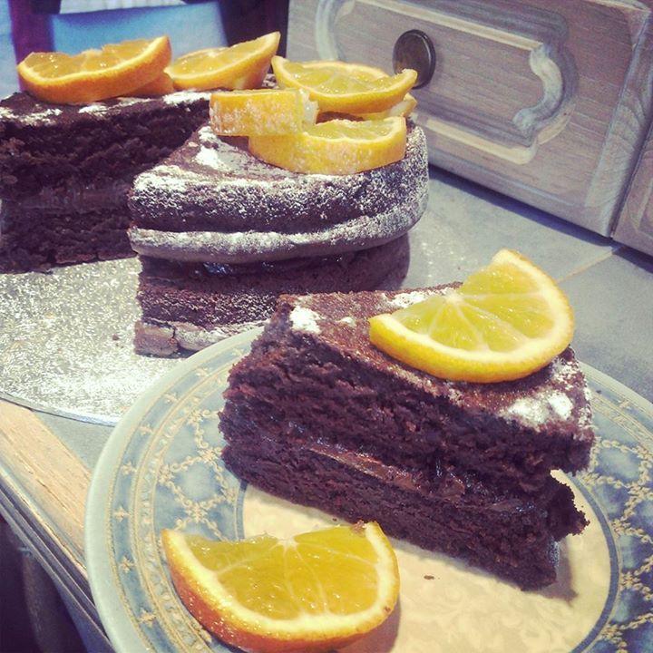 Healthy dairyfree chocolate cake sponge 8oz dairy free