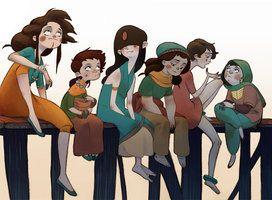 fishergirls by Mai-e
