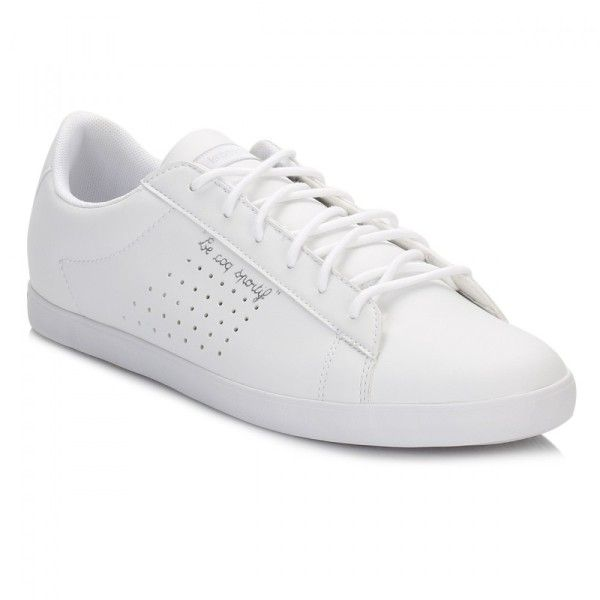 c33d7dbecce9 Womens Optical White Old Silver Agate Lo S Lea Trainers (2.300 RUB) ❤ liked
