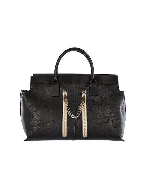 Chloé Handtasche mit Zipper-Detail - schwarz Jetzt auf kleidoo.de bestellen! #kleidoo #fashion #trend #bag #black #chloe #chloé