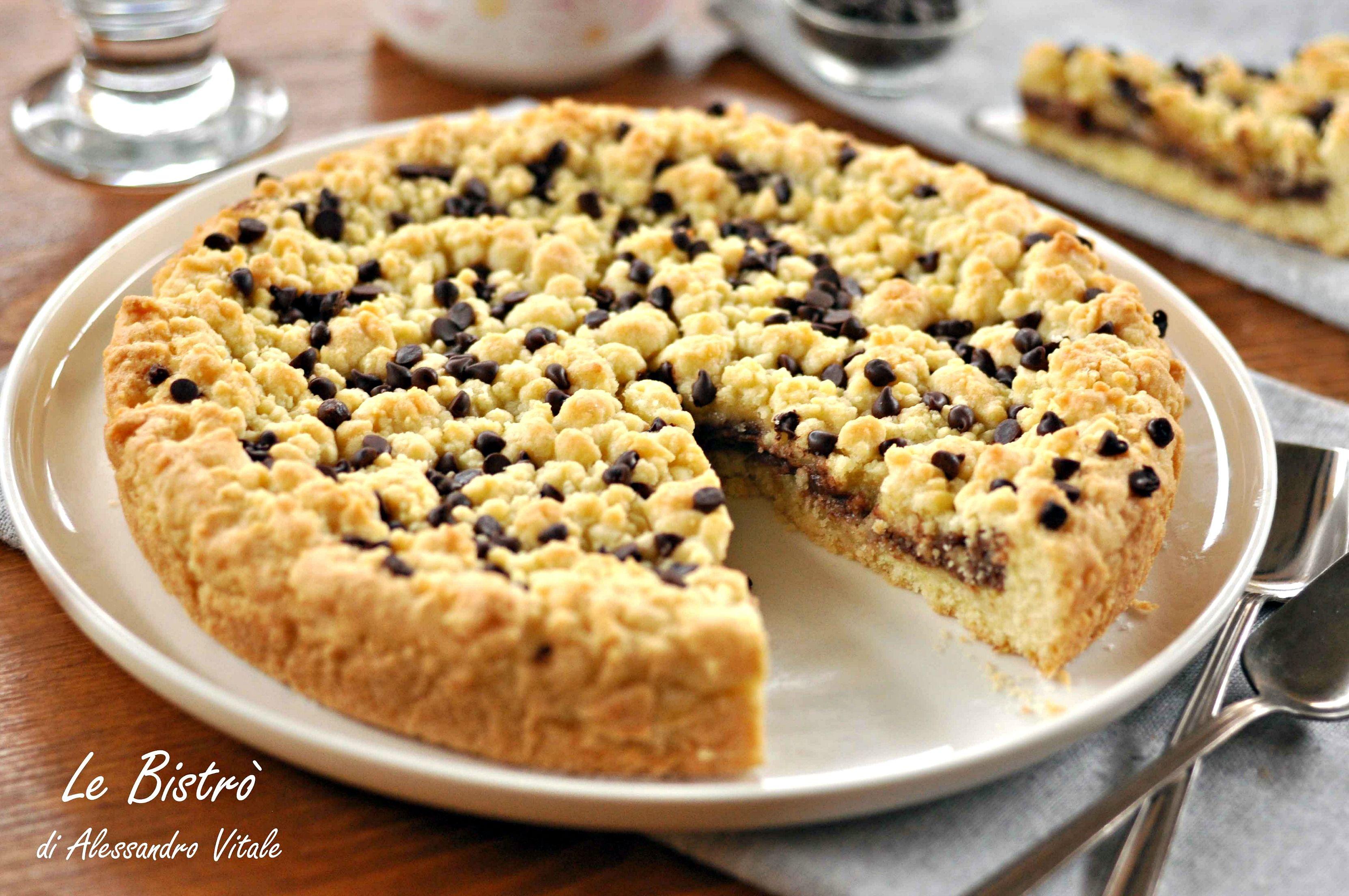 Sbriciolata alla nutella nutella nutella chocolate and for Ricette dolci veloci
