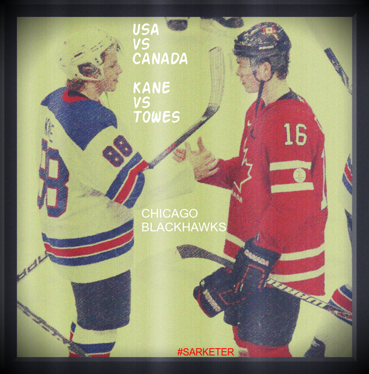 Who are you cheering for? BIG GAME! Canada vs USA right