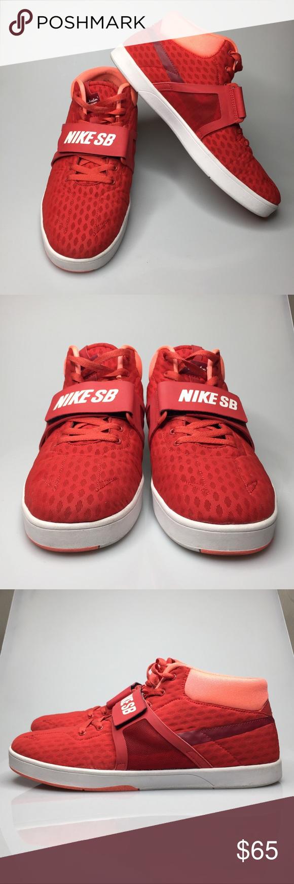 """NIKE SB ERIC KOSTON MID R/R """"RED CLAY"""" Sz 12 Nike SB Eric Koston ..."""