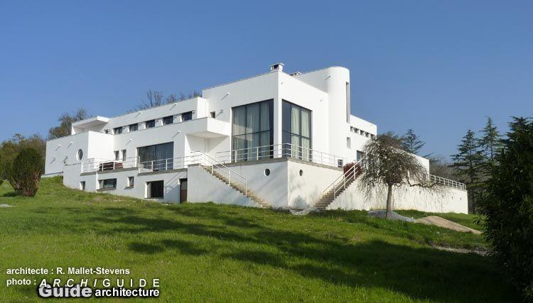 Villa Paul Poiret (1924-1934) 32 route d'Apremont Mézy-sur-Seine Architecte : Robert Mallet-Stevens