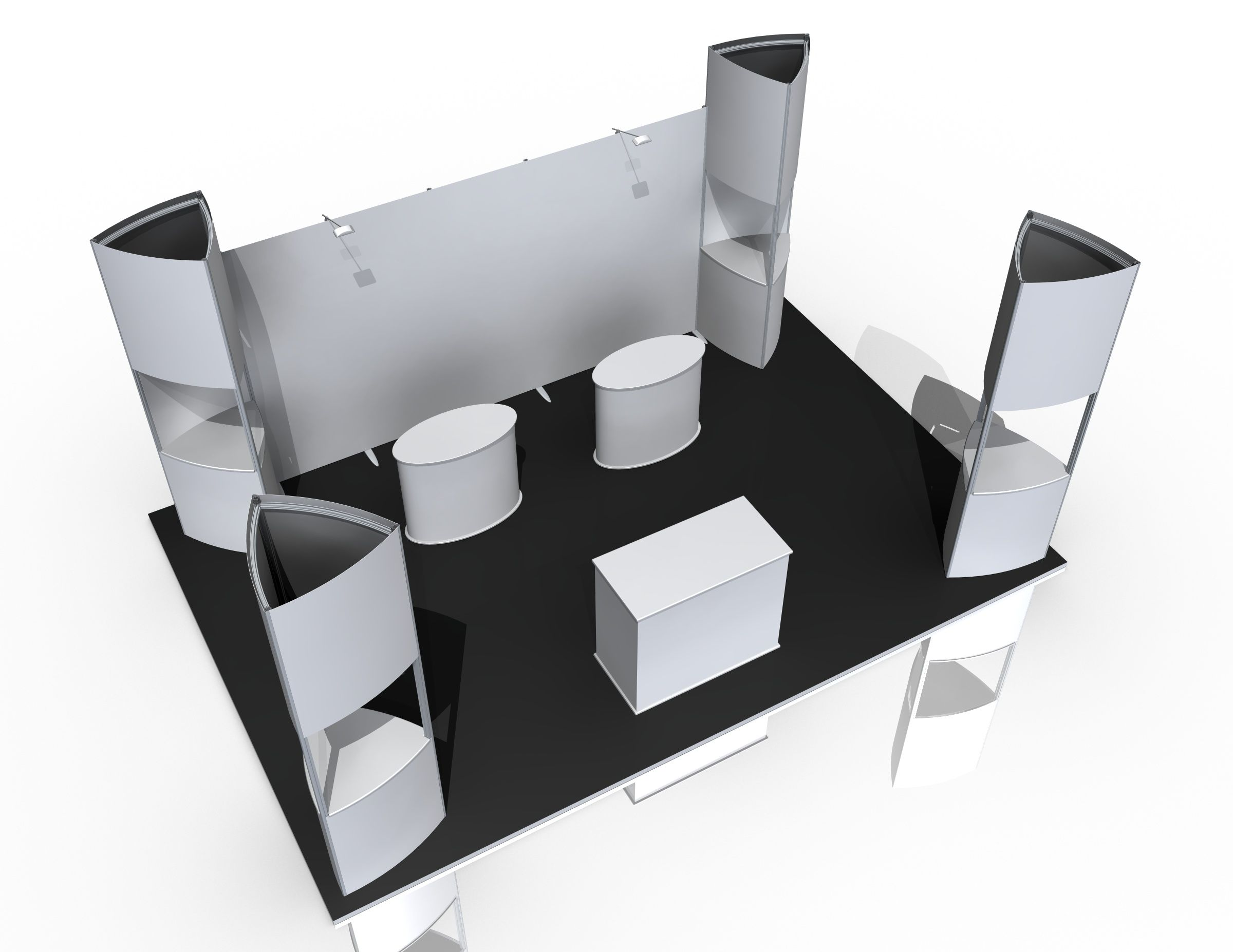 Exhibition Stand Tables : M m modular exhibition stand exhibition bundles