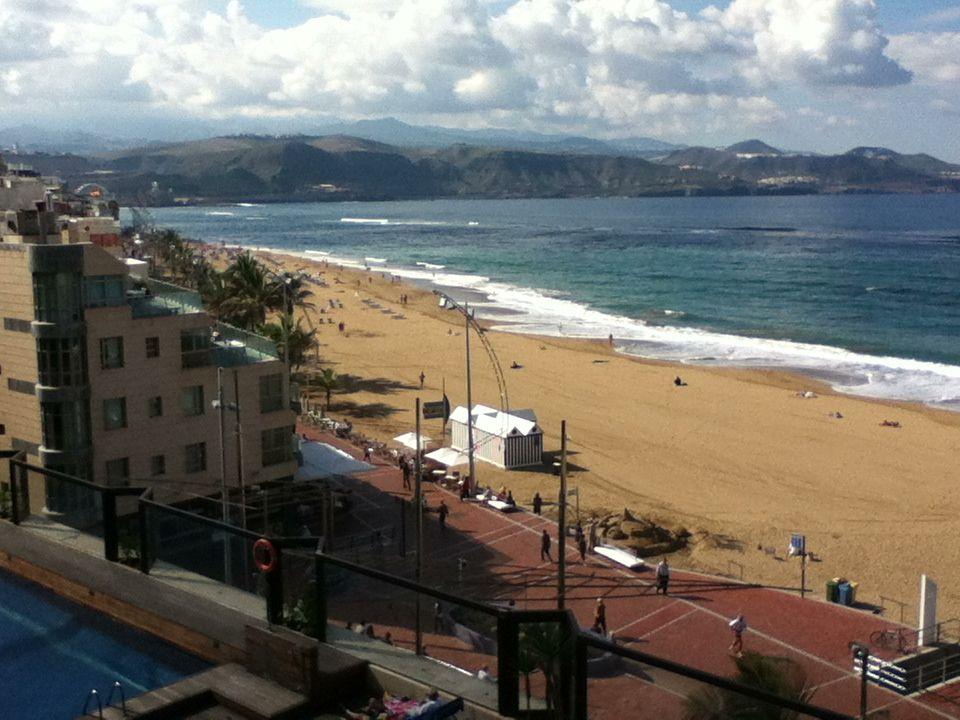 View From My Room At Hotel Cristina Las Palmas Gran Canaria
