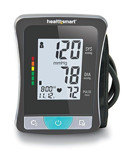 Healthsmart Select Series Upper Arm Digital Blood Pressure Manual Guide