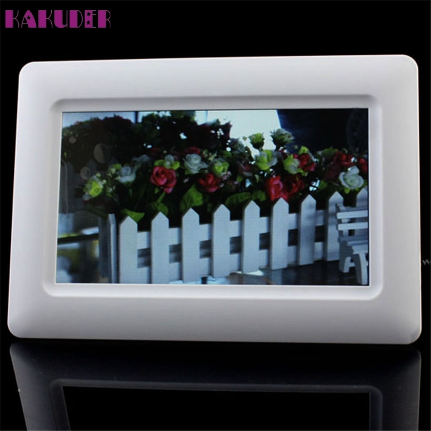 2713 Watch Now High Quality New 7 Tft Lcd Digital Photo Frame