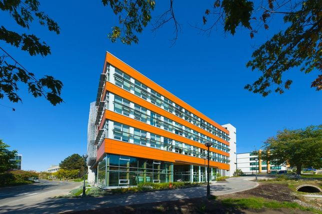 best of green office: CIRS in Vancouver. This was a tough one, but it is as green as it gets.