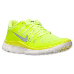 buy popular a5d1d 78407 Women s Nike Free 5.0+ Running Shoes   FinishLine.com   Volt Medium Base