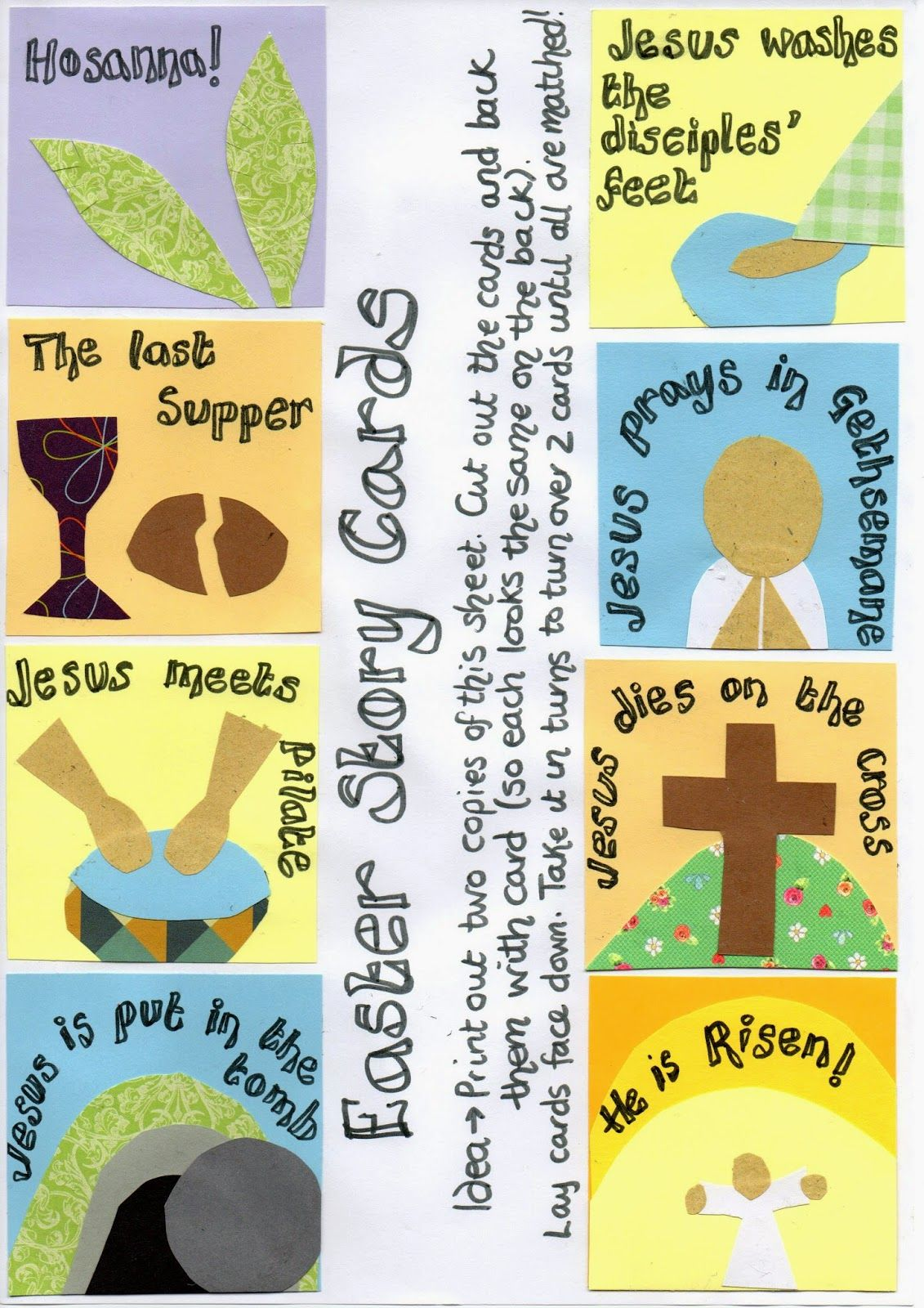 Exceptional image intended for holy week activities printable