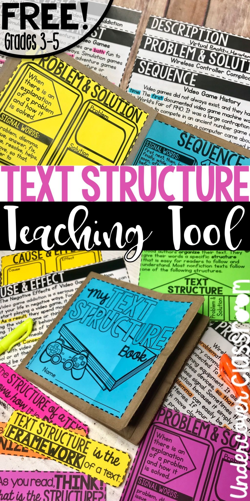 Teach Your Grades 3 5 Students About Text Structures With