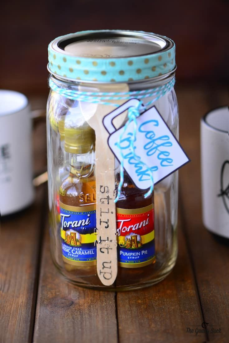 Coffee Break Mason Jar Gift - The Gunny Sack