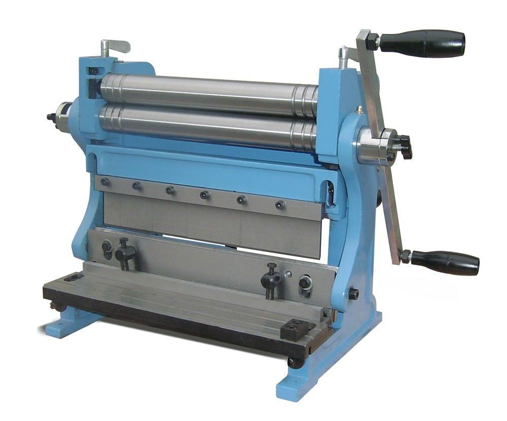 bench sheet metal shear. combination shear, sheet metal brake and slip roll | baileigh industrial bench shear b