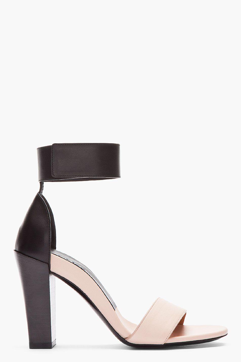 outlet cheap online sale online Chloé Bicolor Ankle Strap Sandals 8fcUl