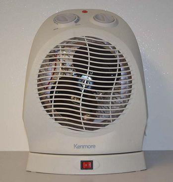 Speed Oscillating Fan Heater