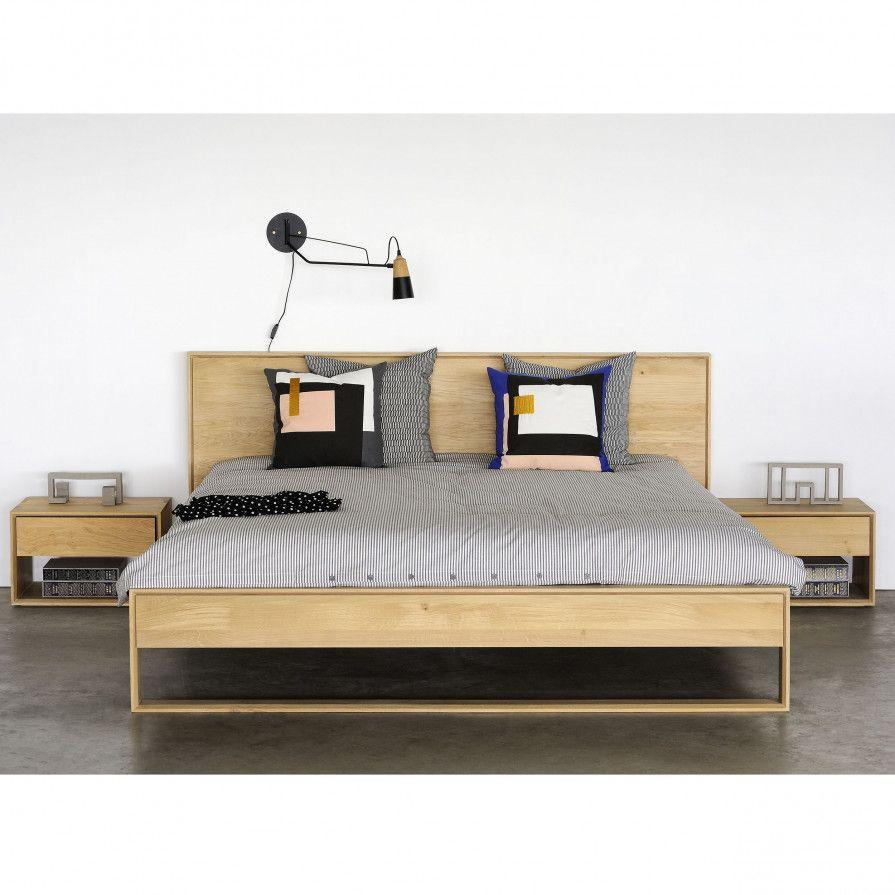 Oak Nordic II Bett 180 | Bett | Pinterest | Bett, Betten und ...