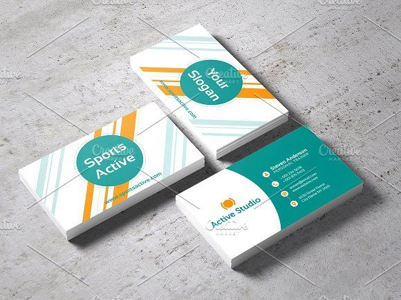 Sports active business card pinterest business cards and card sports active business card templates sports active business cardhighly editable photoshop reheart Gallery