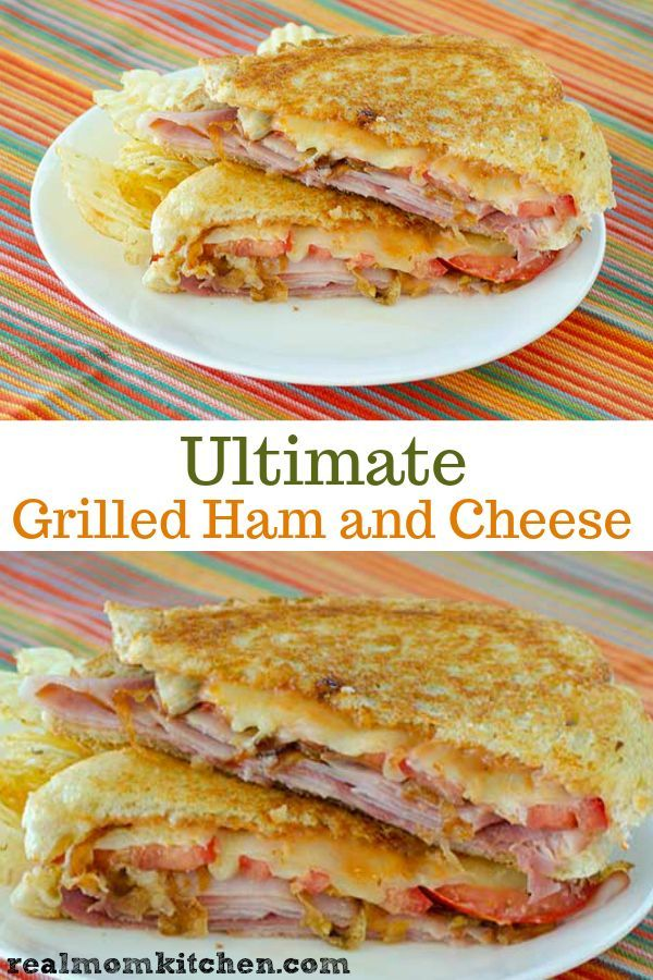 Ultimate Grilled Ham and Cheese | Real Mom Kitchen | #breakfast sandwiches #Cheese #chicken sandwiches #club sandwiches #cold sandwiches #deli sandwiches #easy sandwiches #finger sandwiches #Grilled #grilled sandwiches #Ham #ham sandwiches #hot sandwiches #Kitchen #Mom #panini sandwiches #picnic sandwiches #Real #sandwiches aesthetic #sandwiches and wraps #sandwiches bar #sandwiches de jamon #sandwiches de pollo #sandwiches faciles #sandwiches for a crowd #sandwiches for dinner #sandwiches for k