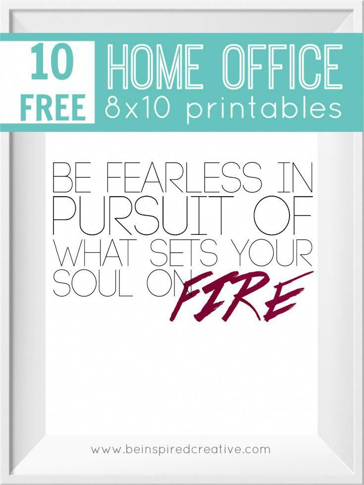 Advice From An Architect 10 Tips To Create A Cooler Home: FREE PRINTABLE DOWNLOAD: 10 Home Office 8x10 Printables To Inspire You, Put A Little Spice In