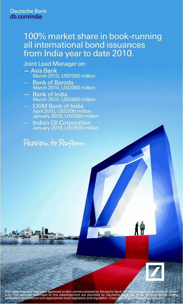 Advertising Campaign Deutsche Bank Advertising Campaign