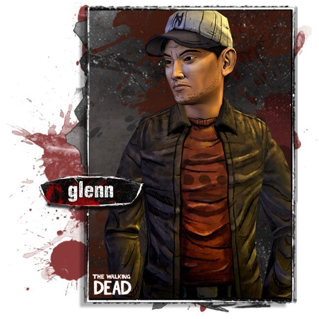 The Walking Dead The Game The Survivors Glenn Is A Likable And Resourceful Guy Who Is Always Willing The Walking Dead Walking Dead Season Walking Dead Game