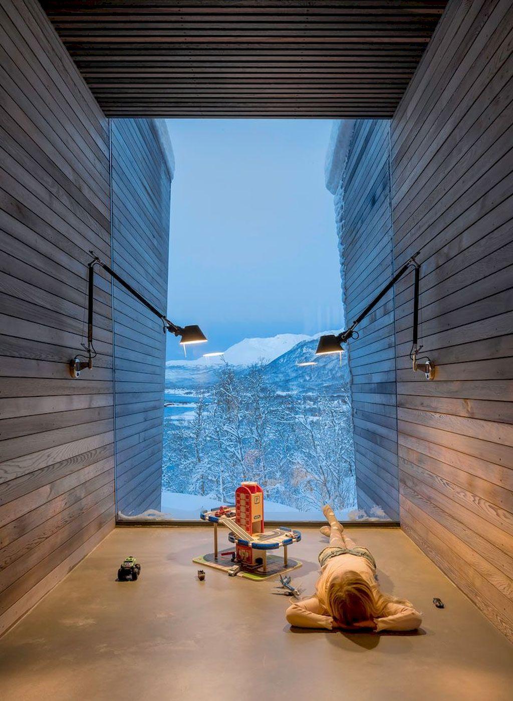 Architecture design amazing house forest glass windows in also rh pinterest