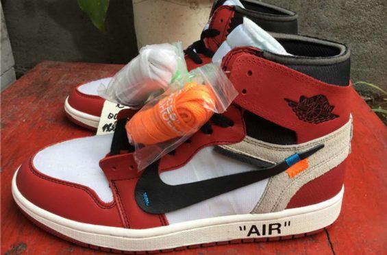 The OFF-WHITE x Air Jordan 1 High Will