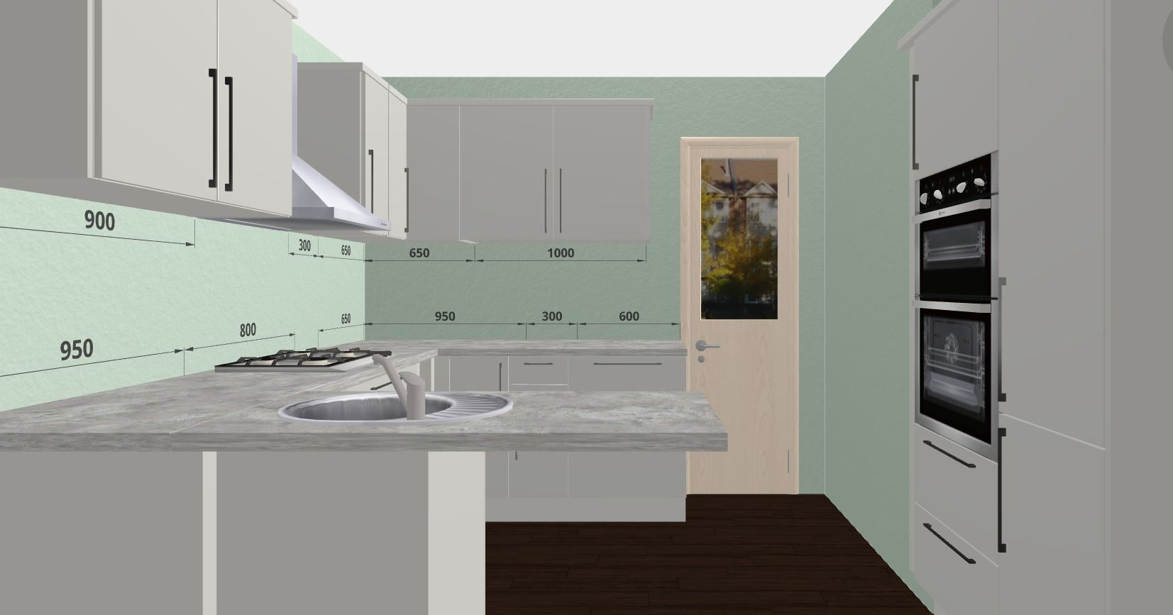 Grey Cabinetry and Grey Quartz Worktops. Design Your Own Kitchen ...