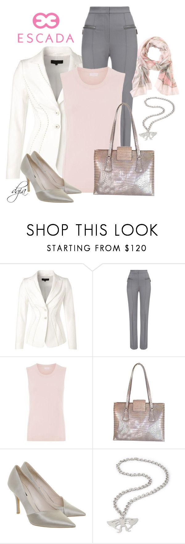 """""""ESCADA total look"""" by dgia ❤ liked on Polyvore featuring ESCADA and Escada Sport"""