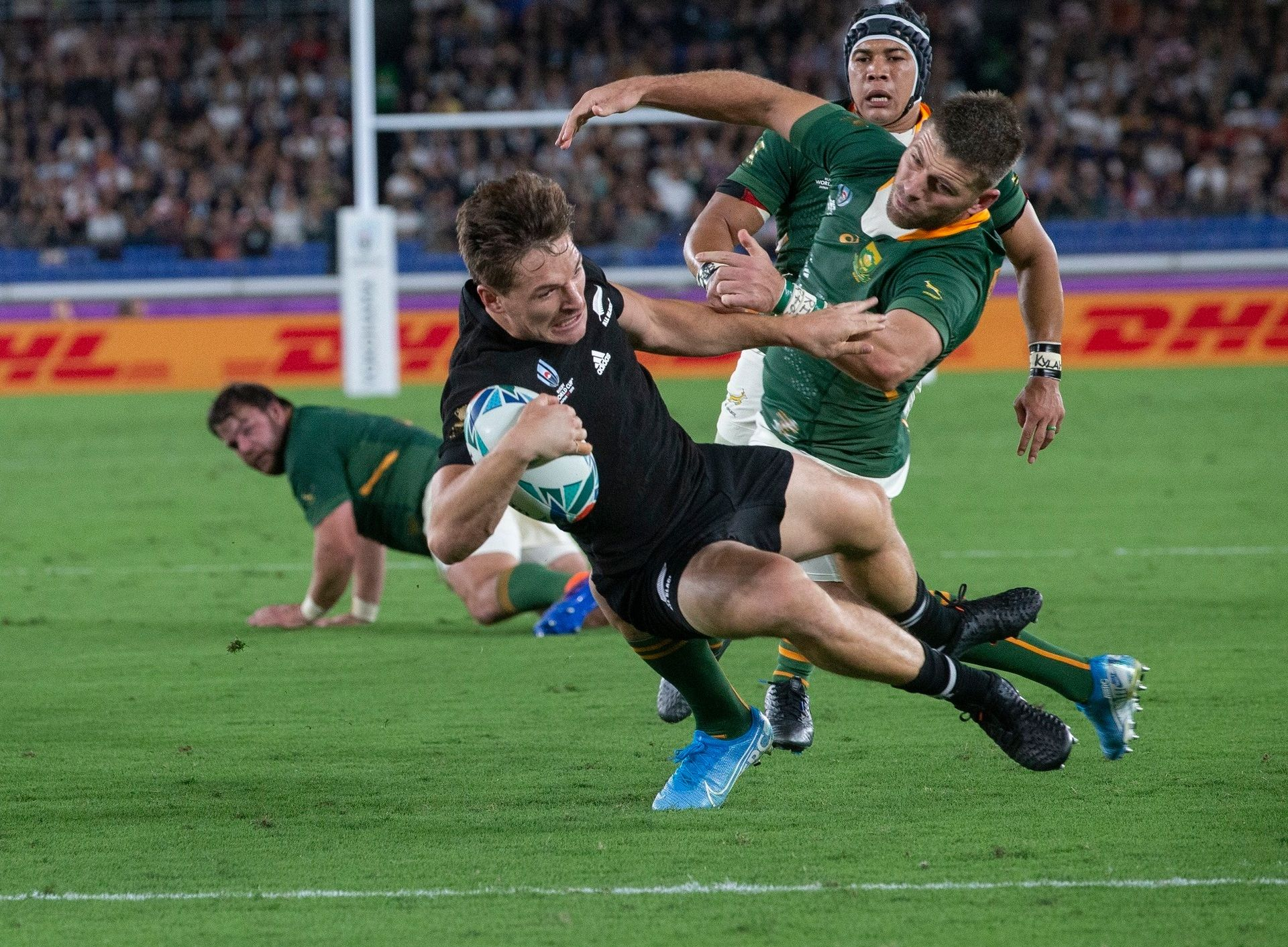 2019 Rugby World Cup All Blacks Take Down Springboks In Remarkable Opener All Blacks Rugby World Cup Nz All Blacks