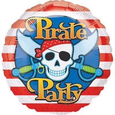 Happy Birthday Balloon - Pirate's Treasure