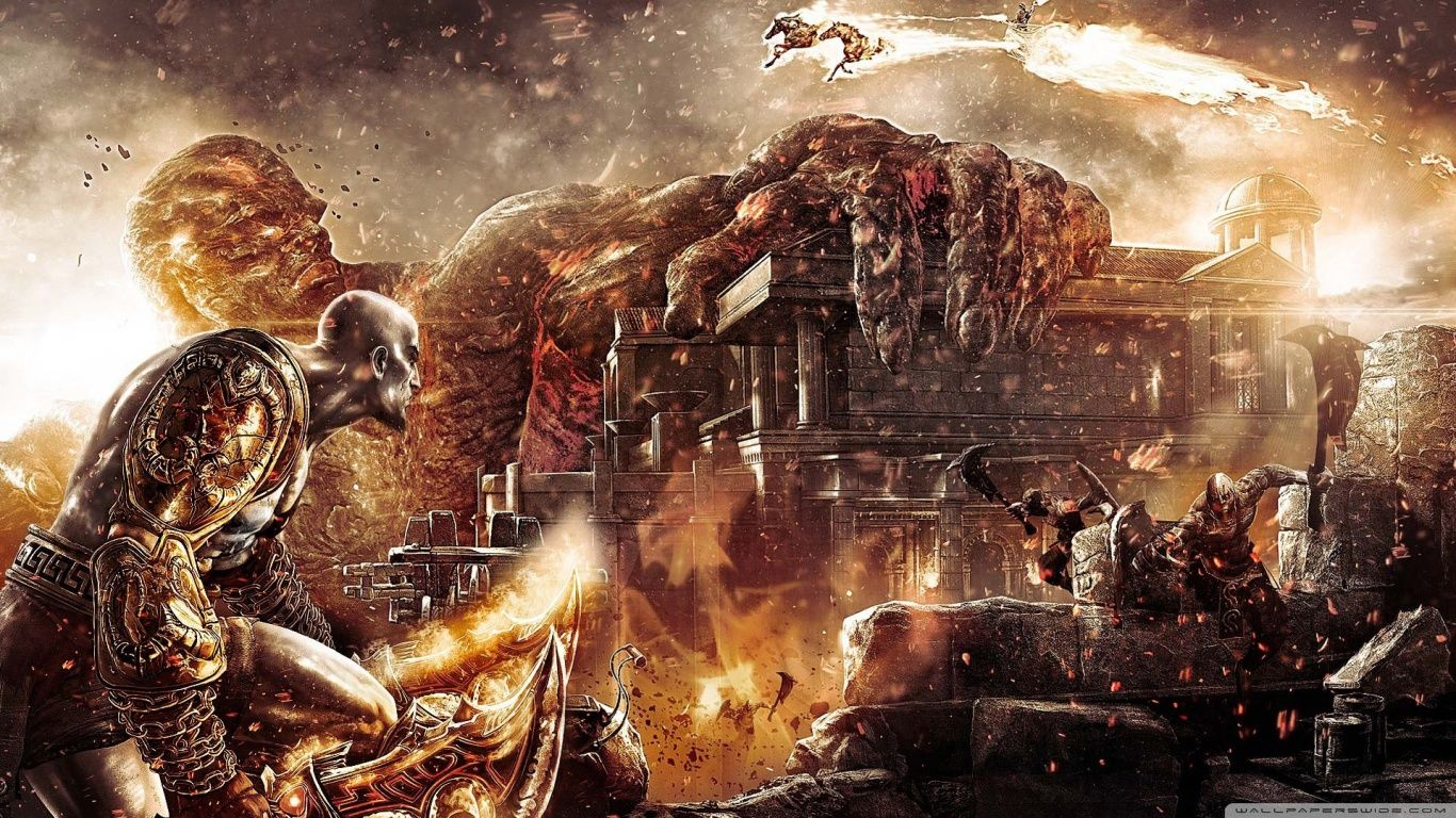God Of War Iii Hd Desktop Wallpaper Widescreen High