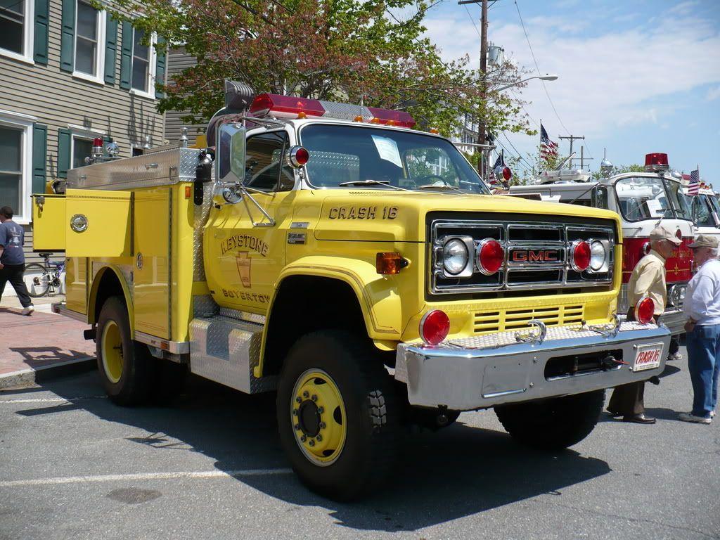 Vintage Gmc 640 Fire Engine Fire Trucks Fire Engine Rescue
