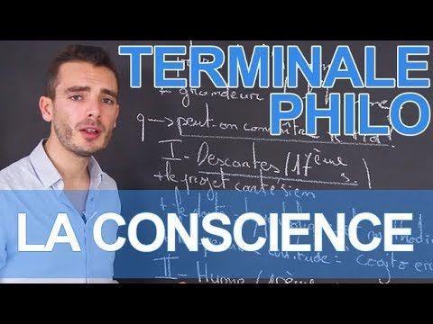 Dissertation conscience philosophie terminale s