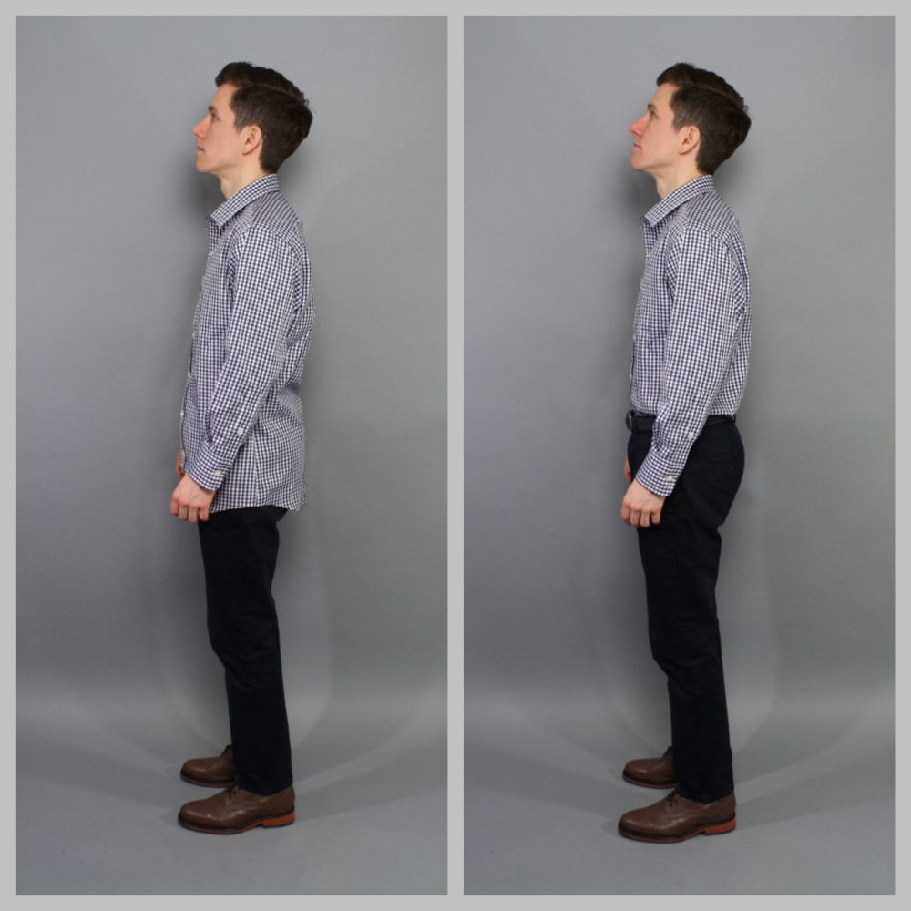 Stantt Dress Shirt Fit Side The Modest Man Pinterest