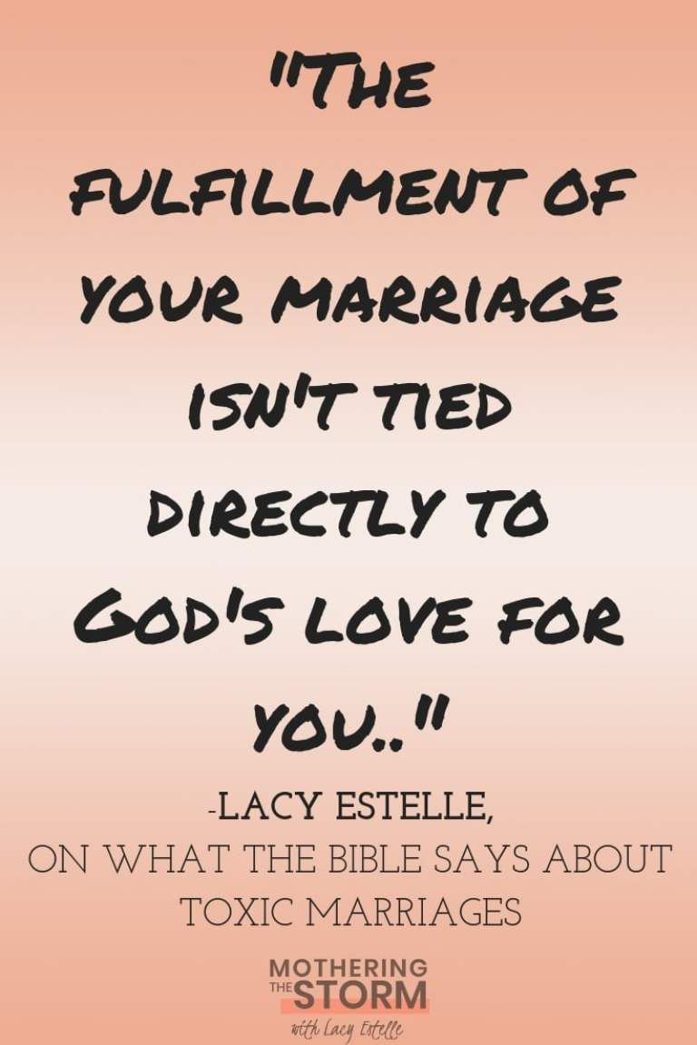 what does the bible say about abuse in marriage
